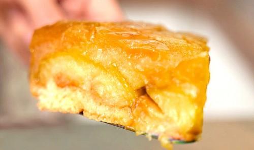 Яблочный пирог «Янтарный»
