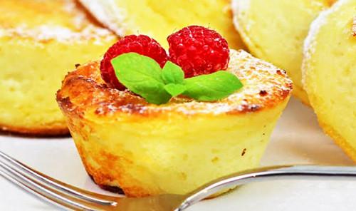 Творожные сырники с манкой в духовке