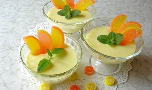 Ленивый лимонный поссет