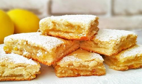 Трехслойный лимонник (Лимонный пирог)