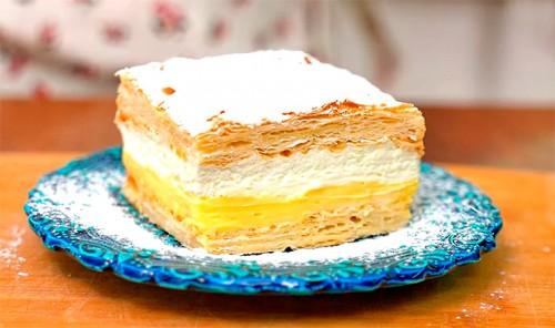 Польский торт «Кремовка»
