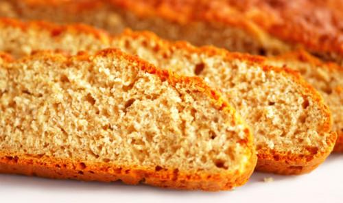 Ароматный хлеб без дрожжей
