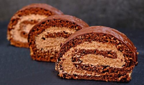 Шоколадный рулет «Прага»