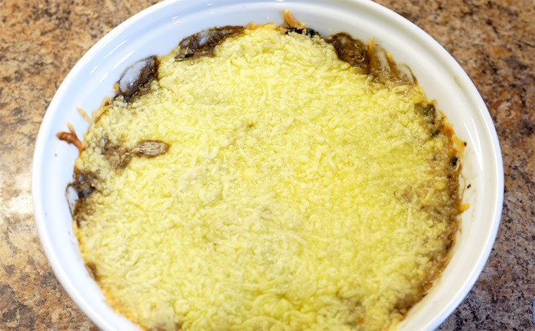 Жульен с грибами и сыром