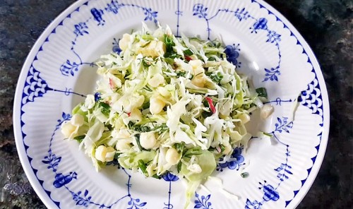 Салат со свежей кукурузой «Пикник»