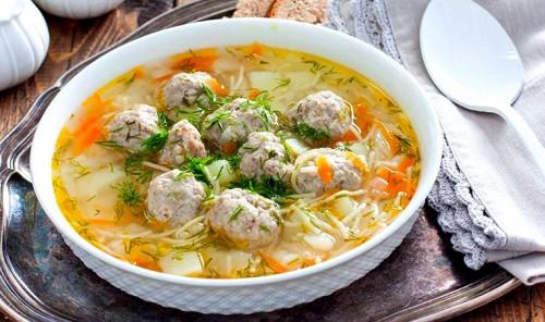 Суп с фрикадельками - подборка лучших рецептов