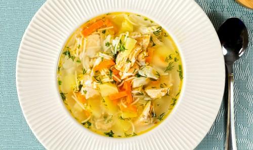 Рыбный суп с вермишелью и картофелем