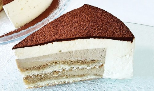 Муссовый торт «Тирамису»