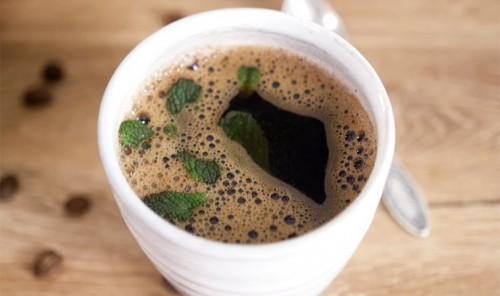 Кофе по-турецки с мятой и ванилью