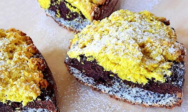 Творожный кекс «Три вкуса»