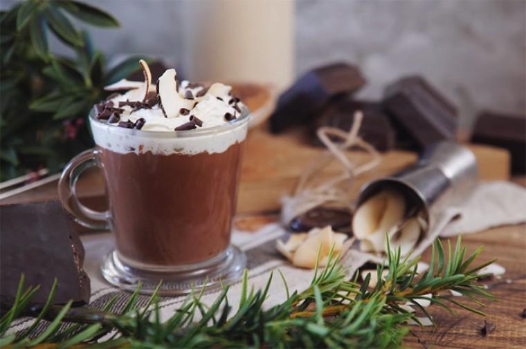Горячий шоколад с Амаретто