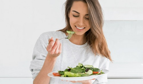 Диетические салаты на любой вкус