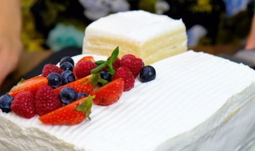Торт на сгущенном молоке «Молочная девочка»