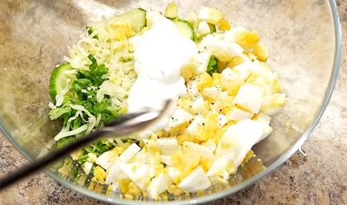 Лёгкий салат для худеющих