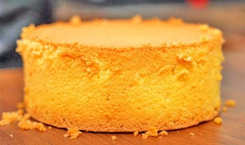 Пышный бисквит без разрыхлителя и соды
