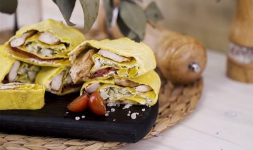 3 закуски с лавашом для пикника