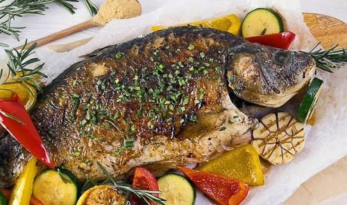 Пряная рыба по-китайски