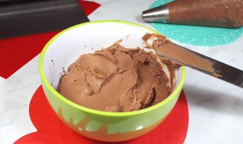 Шоколадный крем чиз для тортов и пирожных