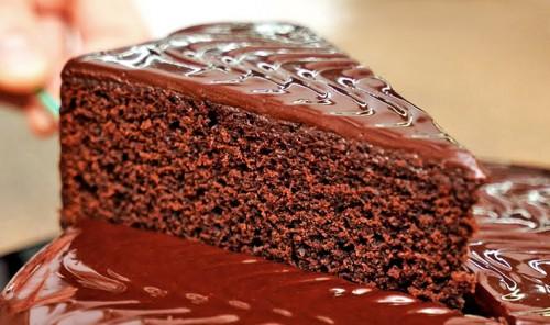 Шоколадный торт «На раз, два, три»