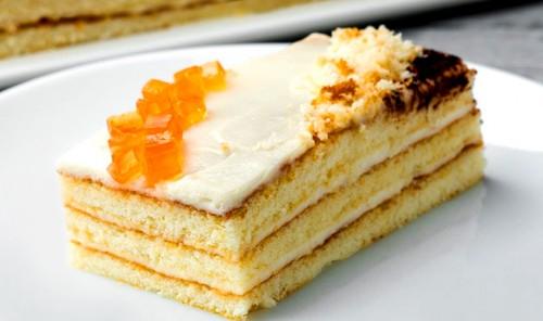 Бисквитный торт «5 Ложек»