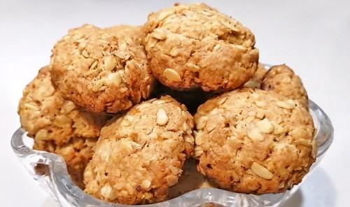 Овсяное печенье с кокосовой стружкой «Анзак»