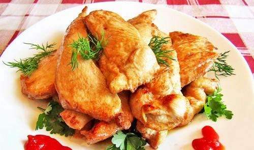 Куриное филе в соево-имбирном маринаде