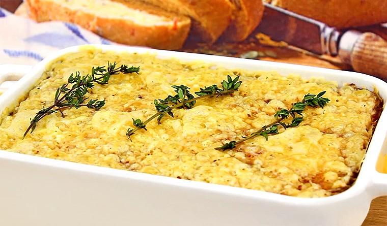 Картофельная запеканка (Гратен)