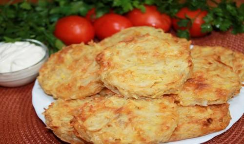 Драники с сыром в духовке