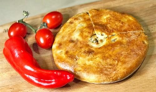 Мясной пирог по-грузински «Кубдари»