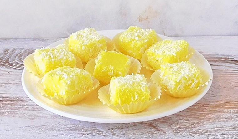 Лимонные конфеты