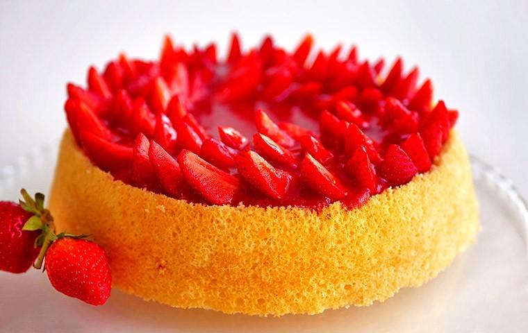 Клубничный торт «Красная шапочка»