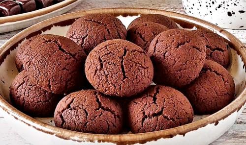 Постное печенье «Шоколадные трещинки»