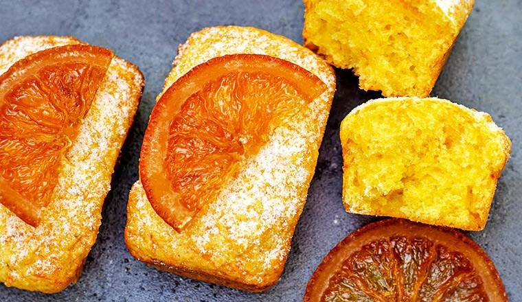 Творожные кексы с морковью