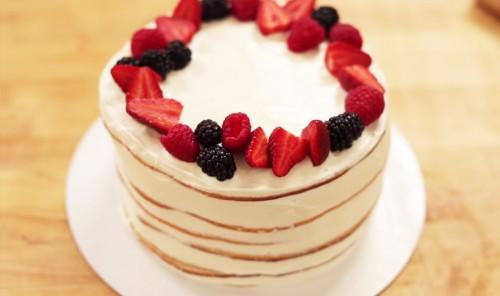 Торт со сгущенкой «Молочная девочка»