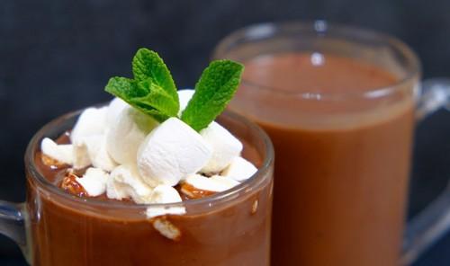 Густой горячий шоколад (какао)