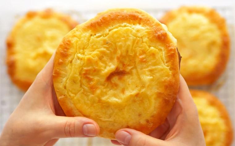 Ватрушки с картофельным и гороховым пюре «Шаньги»