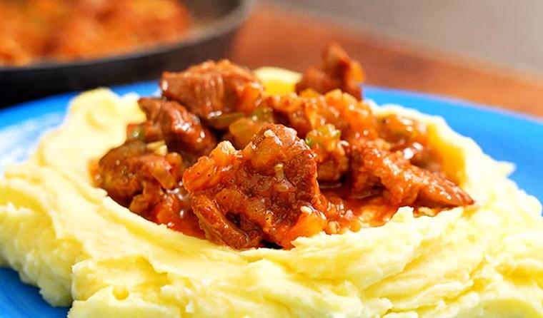 Азу из говядины по-татарски