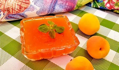 Густой абрикосовый джем на зиму