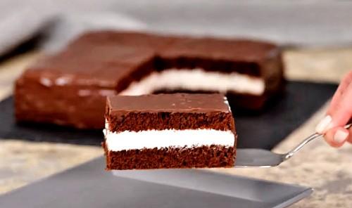 Шоколадный торт «Киндер Делис»