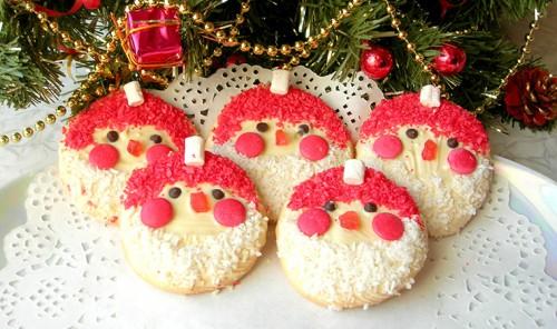 Новогоднее печенье «Дед Мороз»
