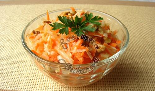 Салат из топинамбура «От 100 хворей»