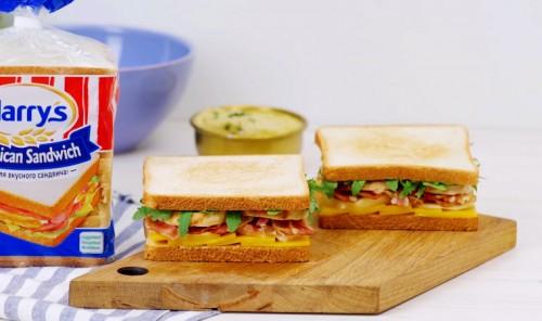 Сытные сэндвичи с курицей и хумусом
