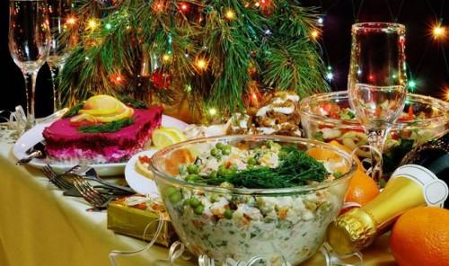 Подборка новогодних салатов
