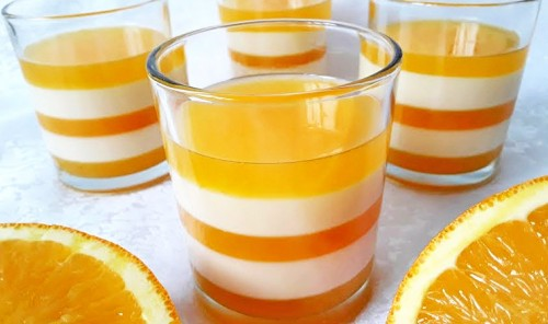 Апельсиновая панна-котта