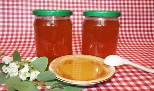 Варенье из цветков белой акации с лимоном (акациевый мёд)