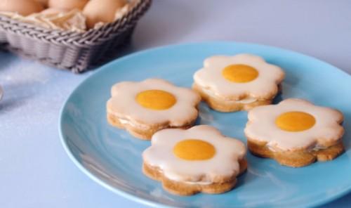 Печенье с лимонным кремом