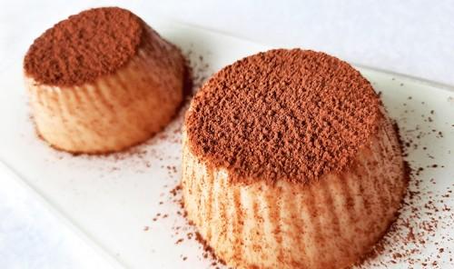 Кофейно-карамельный десерт из ряженки