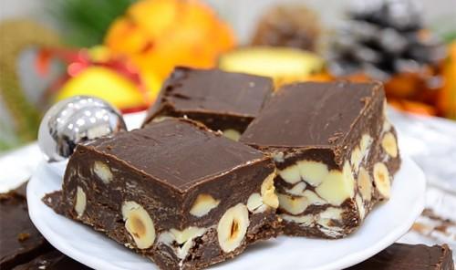Новогодний шоколад