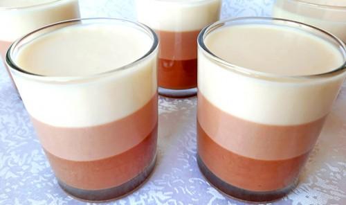 Йогуртовый десерт «Три шоколада»