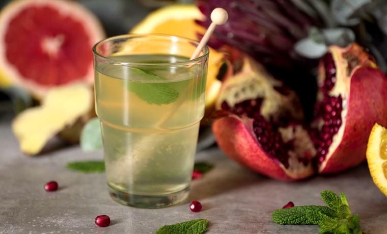 Цитрусово-имбирный чай